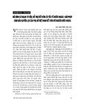 """Báo cáo """" Mô hình cơ quan tư vấn, hỗ trợ kết hôn có yếu tố nước ngoài - giải pháp đảm bảo quyền lợi của phụ nữ Việt Nam kết hôn với người nước ngoài """""""