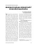 """Báo cáo """" Hiệp hội cảnh sát các nước ASEAN - mô hình hợp tác quốc tế đấu tranh chống tội phạm xuyên quốc gia """""""
