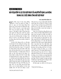 """Báo cáo """" Bảo vệ quyền và lợi ích hợp pháp của người sử dụng lao động trong các cuộc đình công bất hợp pháp """""""