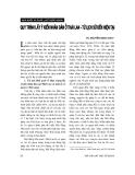 Báo cáo về ' Phong tục tập quán Việt Nam trong mối quan hệ với những quy định về hiến, lấy, ghép mô, bộ phận cơ thể người và hiến, lấy xác '