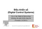 Điều khiển số (Digital Control Systems) - ĐH Bách Khoa Hà Nội