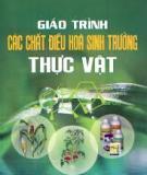 Giáo trình chất điều hòa sinh trưởng thực vật - Ts Nguyễn Minh Chơn