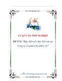 luận văn:Đặc điểm tổ chức Kế toán tại Công ty cổ phần LILAMA 10