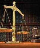 Luận văn:  Kỹ năng của Luật sư trong các vụ án hình sự