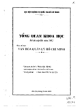 Văn hóa quản lý Hồ Chí Minh