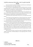 Đề tài: Tìm hiểu dịch vụ thẻ ngân hàng VPBank Đà Nẵng