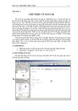 Matlab căn bản và ứng dụng