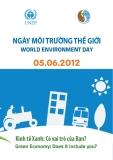 NGÀY MÔI TRƯỜNG THẾ GIỚI - WORLD ENVIRONMENT DAY 05.06.2012