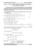 Chương 7  GIẢI GẦN ĐÚNG PHƯƠNG TRÌNH ĐẠO HÀM RIÊNG BẰNG PHƯƠNG PHÁP SỐ