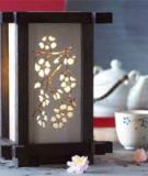 Làm đèn kiểu Nhật hoài niệm một mùa hoa