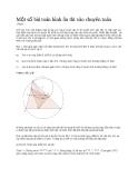 Một số bài toán hình ôn thi vào chuyên toán
