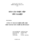 Đề tài: Thực trạng hoạt động sản xuất kinh doanh của công ty TNHH MTV thiết bị số Dmart