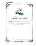 luận văn:Hoàn thiện hệ thống thù lao lao động tại Công ty cổ phần Lilama 69-3, giai đoạn 2005 - 2007