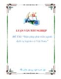 luận văn:Biện pháp phát triển ngành dịch vụ logistics ở Việt Nam