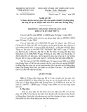 HỘI ĐỒNG NHÂN DÂN TỈNH QUẢNG NAM Số: 146/2009/NQ-HĐND