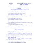 CHÍNH PHỦ Số: 38/2013/NĐ-CP