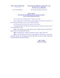 THỦ TƯỚNG CHÍNH PHỦ Số: 23/2013/QĐ-TTg