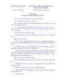THỦ TƯỚNG CHÍNH PHỦ Số: 22/2013/QĐ-TTg