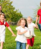 Trẻ em thường xuyên tập thể dục có thể giúp giảm nguy cơ gãy xương