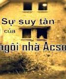 Truyện ma Sự suy tàn của ngôi nhà acsơ