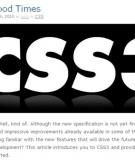 Sử Dụng Css3 Theo W3C