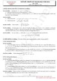 Thử sức trước kỳ thi đại học năm 2013 môn toán - Đề số 4