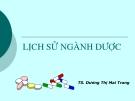 Lịch sử ngành dược