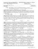 Đề Thi Đại Học Khối A, A1 Vật Lý 2013 - Phần 8 - Đề 18
