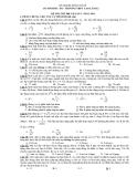 Đề Thi Đại Học Khối A, A1 Vật Lý 2013 - Phần 8 - Đề 12
