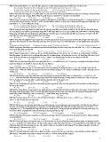 Đề Thi Đại Học Khối A, A1 Vật Lý 2013 - Phần 8 - Đề 3