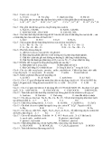 Đề Thi Tốt Nghiệp Hóa 2013 - Phần 3 - Đề 12