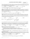 Đề Thi Đại Học Khối A, A1 Vật Lý 2013 - Phần 8 - Đề 6