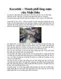 Kurashik – Thành phố lãng mạn của Nhật Bản