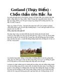 Gotland (Thụy Điển) - Chốn thần tiên Bắc Âu