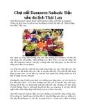 Chợ nổi Damnoen Saduak: Đặc sản du lịch Thái Lan