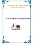 TRƯỜNG THCS HƯƠNG TRÀ TUYỂN TẬP BỘ ĐỀ THI KHỐI THCS