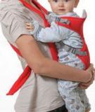Những nguyên tắc địu em bé đảm bảo an toàn
