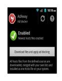 .Chặn quảng cáo trong trình duyệt và ứng dụng Android