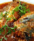 Cá nục xốt cà chua
