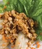 Cà tím xốt đậu phộng