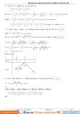 Hướng dẫn giải bài tập bất đẳng thức Max Min