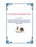 VĂN BẢN QUY PHẠM PHÁP LUẬT43/2013/NĐ-CP Quy định chi tiết thi hành Điều 10 của Luật công đoàn về quyền, trách nhiệm của công đoàn trong việc đại diện, bảo vệ quyền, lợi ích hợp pháp, chính đáng của người lao động