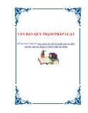 VĂN BẢN QUY PHẠM PHÁP LUẬTSỐ 46/2013/NĐ-CP Quy định chi tiết thi hành một số điềucủa Bộ luật lao động về tranh chấp lao động