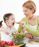 Dưỡng chất cần thiết cho trẻ biếng ăn