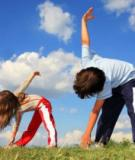 Tập thể dục thường xuyên có thể giúp trẻ giảm nguy cơ gãy xương