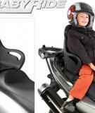 Giúp mẹ chọn và sử dụng ghế ngồi trên xe máy cho con