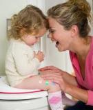 Những lưu ý khi tập cho bé ngồi bô