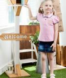 Những mẫu T-shirt tạo cảm giác mát mẻ cho bé gái