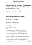 SubjunctiveMood (Thể bằng cách)