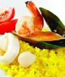 Cơm nấu hải sản kiểu Tây Ban Nha